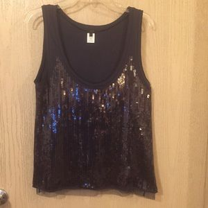J. Crew Collection | Sequined Tank | NWOT | Large